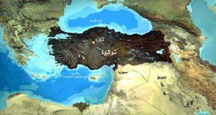 صور خريطة تركيا بالعربي , تعرف على جغرافيا تركيا بالتفصيل