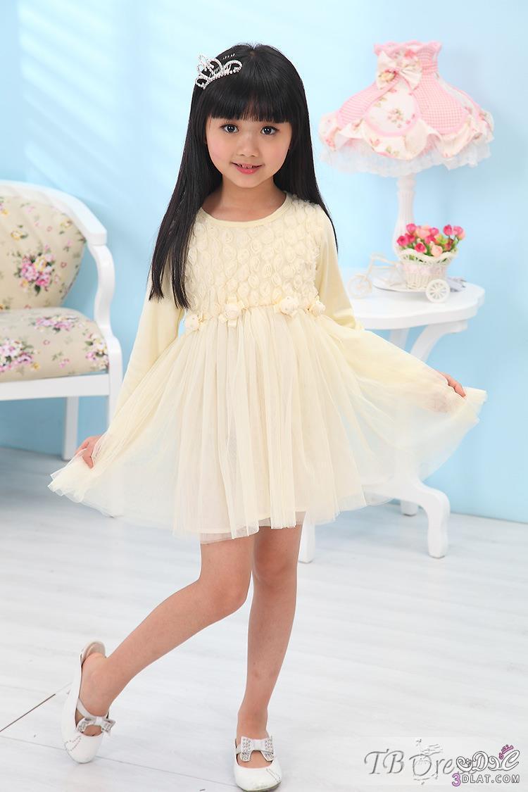 صور فساتين قصيرة للاطفال , شاهد اروع الفساتين على الموضة للاطفال