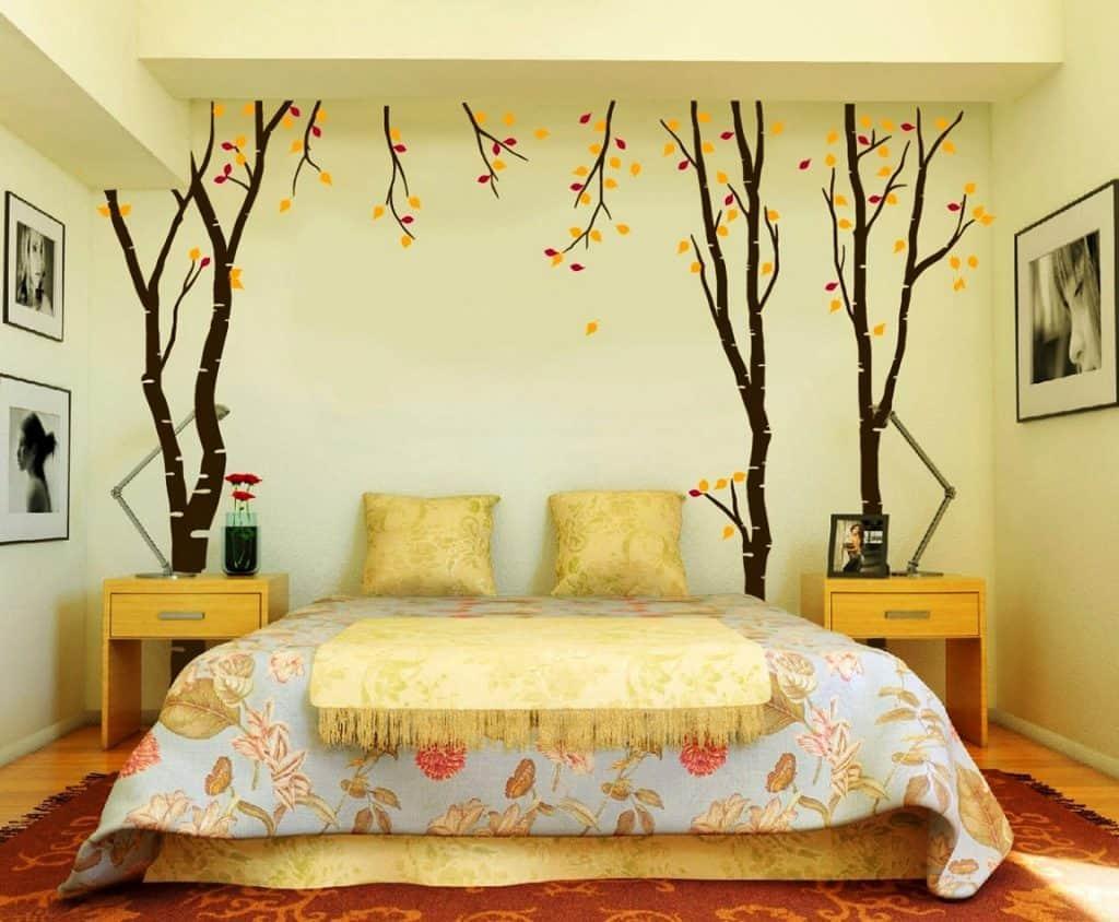 صور فنون في غرفة النوم.اجمل موديلات غرف النوم المودرن