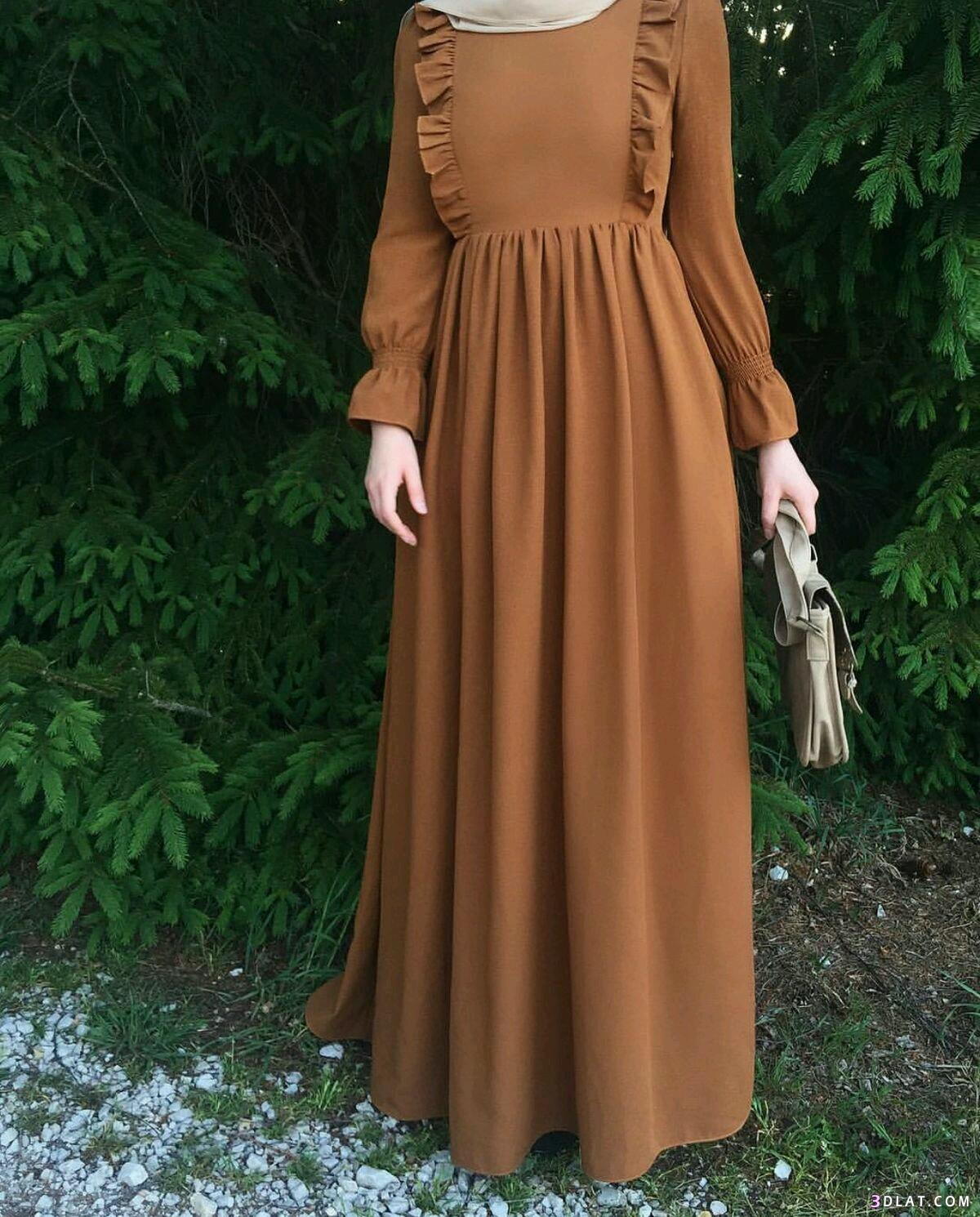 صورة فساتين تركية للمحجبات , اروع الفساتين التركية للبنات المحجبات في غاية اجمال 6453 1