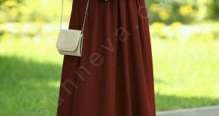 صورة فساتين تركية للمحجبات , اروع الفساتين التركية للبنات المحجبات في غاية اجمال