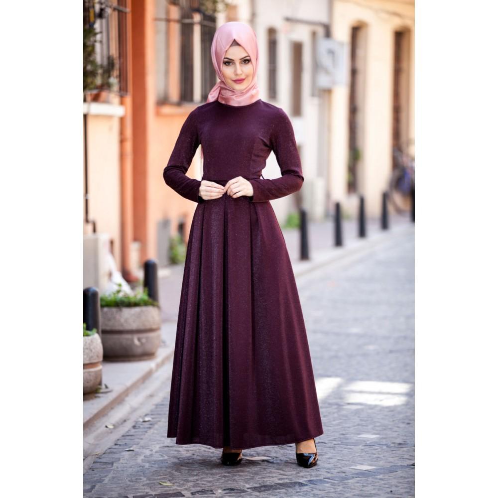 صورة فساتين تركية للمحجبات , اروع الفساتين التركية للبنات المحجبات في غاية اجمال 6453 3