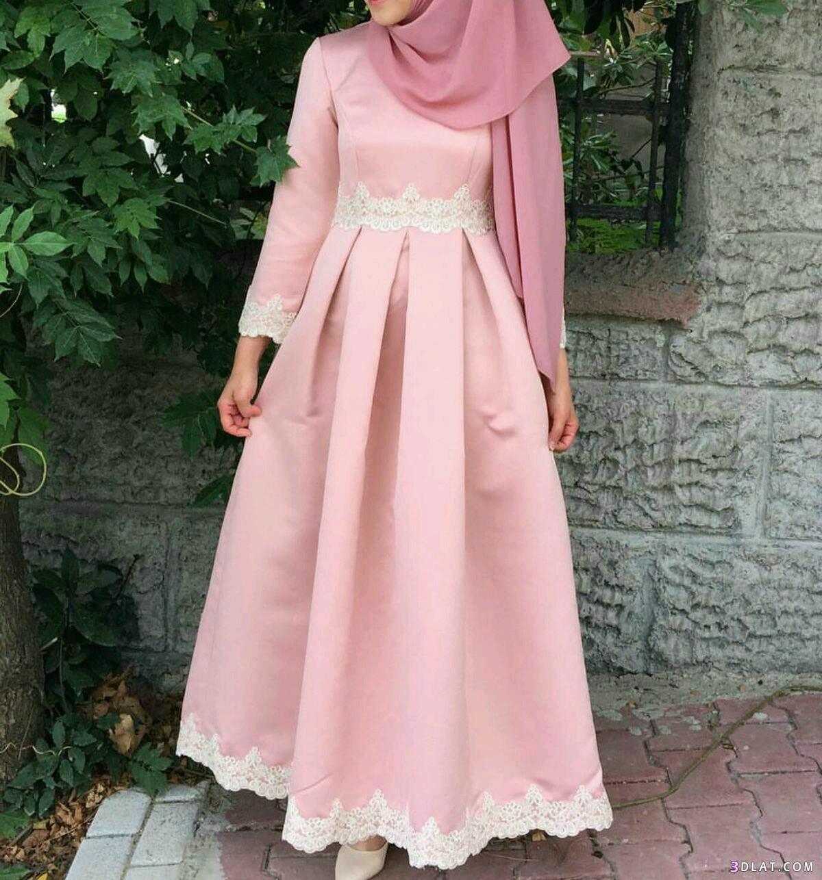 صورة فساتين تركية للمحجبات , اروع الفساتين التركية للبنات المحجبات في غاية اجمال 6453 5