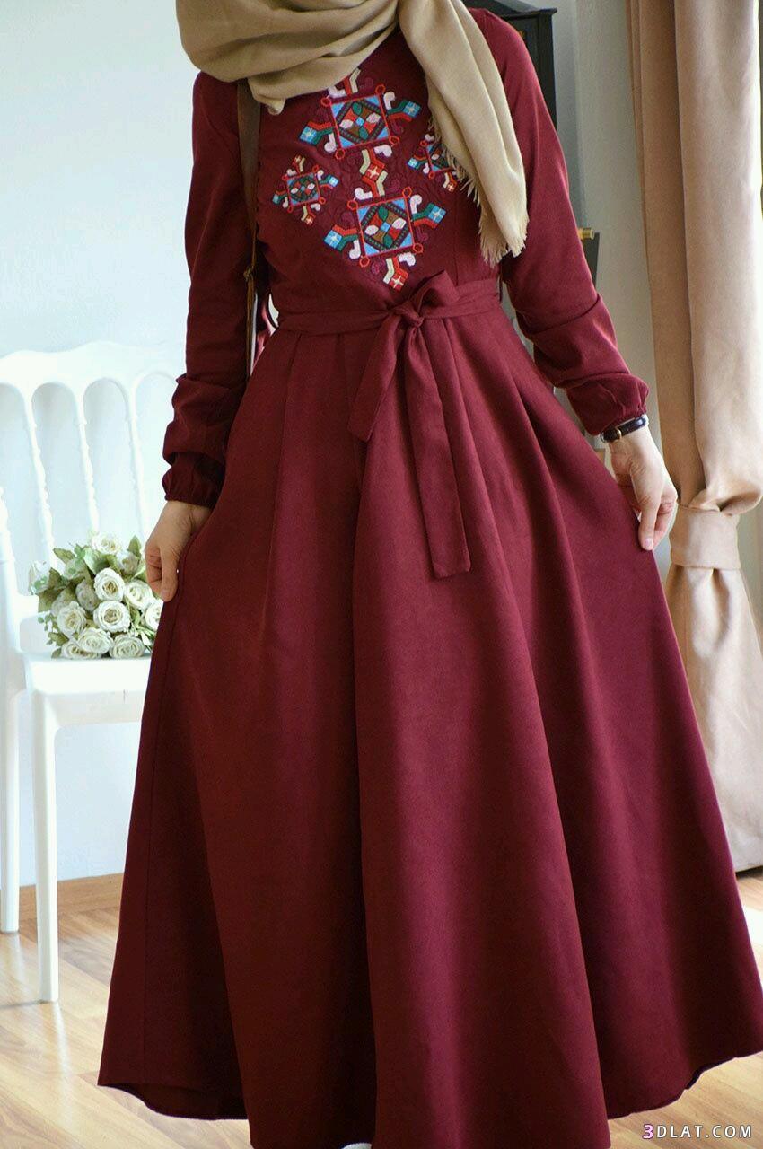 صورة فساتين تركية للمحجبات , اروع الفساتين التركية للبنات المحجبات في غاية اجمال 6453 6