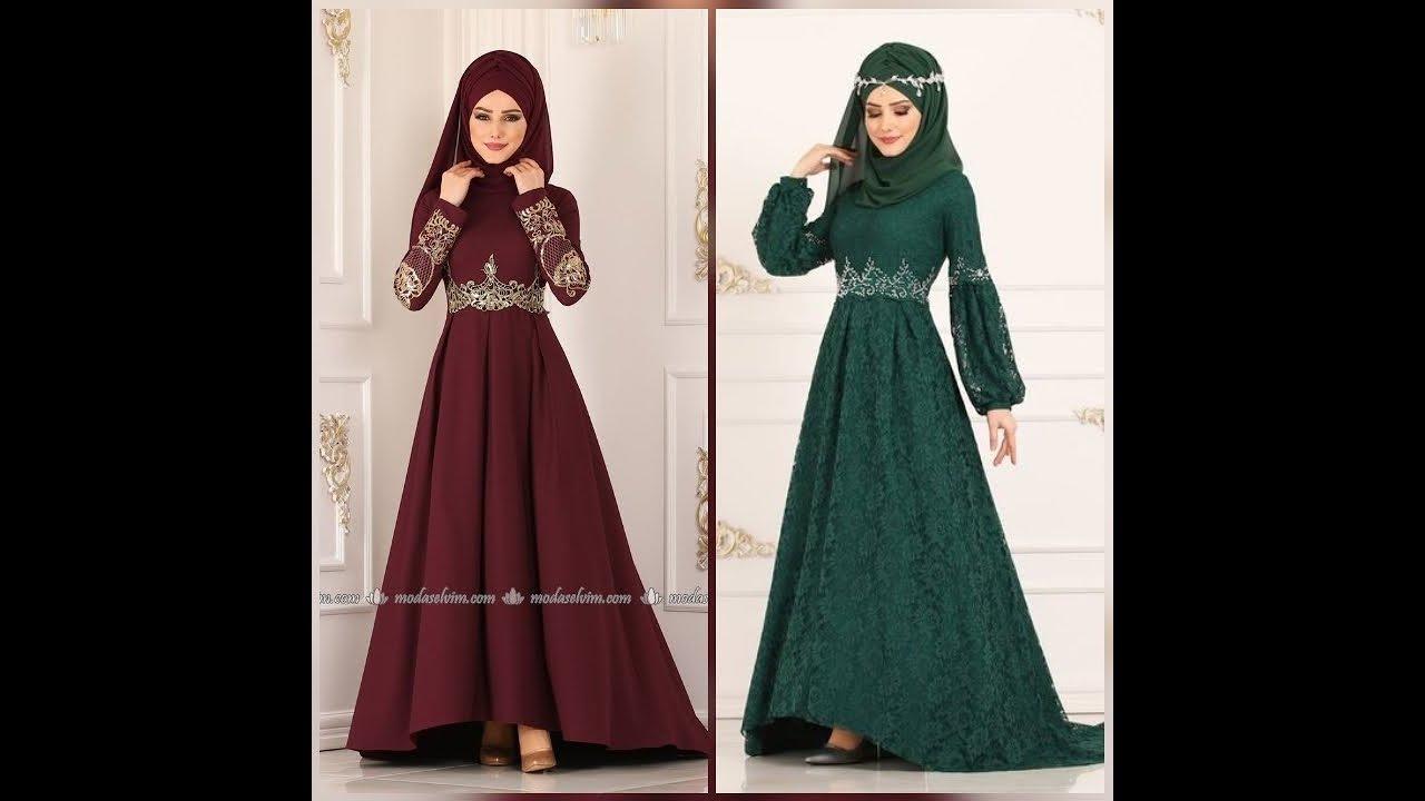 صورة فساتين تركية للمحجبات , اروع الفساتين التركية للبنات المحجبات في غاية اجمال 6453 8