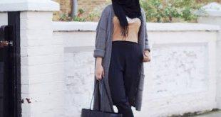 صورة ستايل حجاب للمراهقات , لفه طرحه تجنن