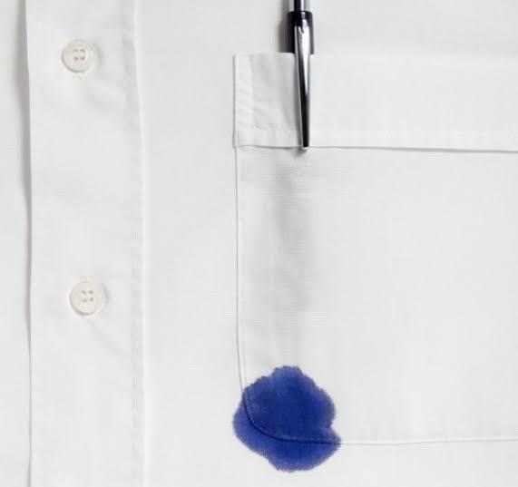 صورة ازالة الحبر من الثوب الابيض , طريقة تنظيف الحبر من الملابس