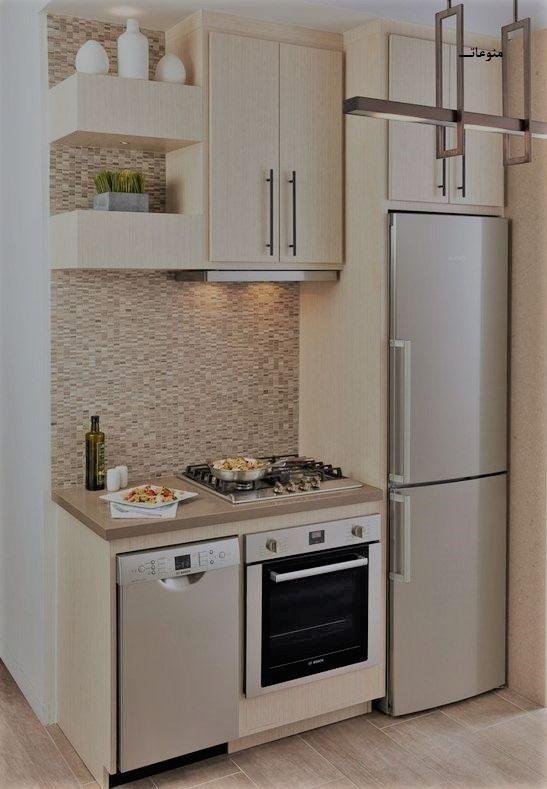 صورة تصاميم مطابخ صغيرة وبسيطة , تصاميم مطابخ عصريه