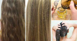 البابونج لتفتيح الشعر , تعرفوا على وصفة البابونج والليمون والعسل لتفتيح الشعر