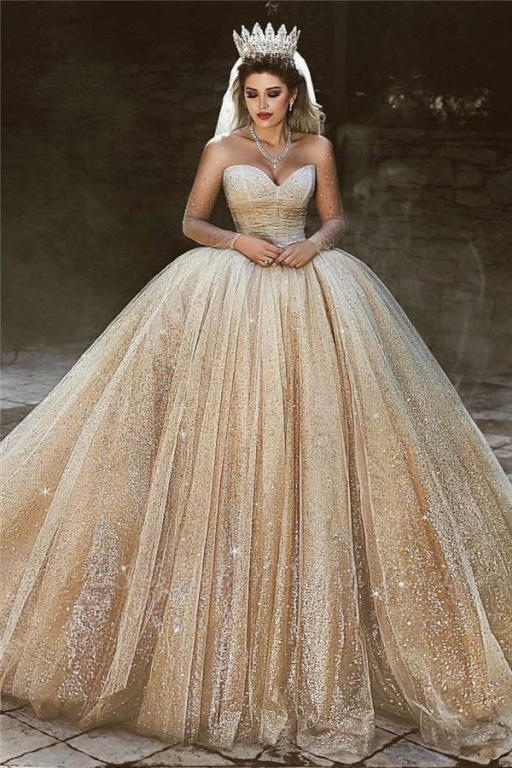 صورة اجمل فساتين الافراح , احدث تصميمات لفساتين الزفاف 13199 1