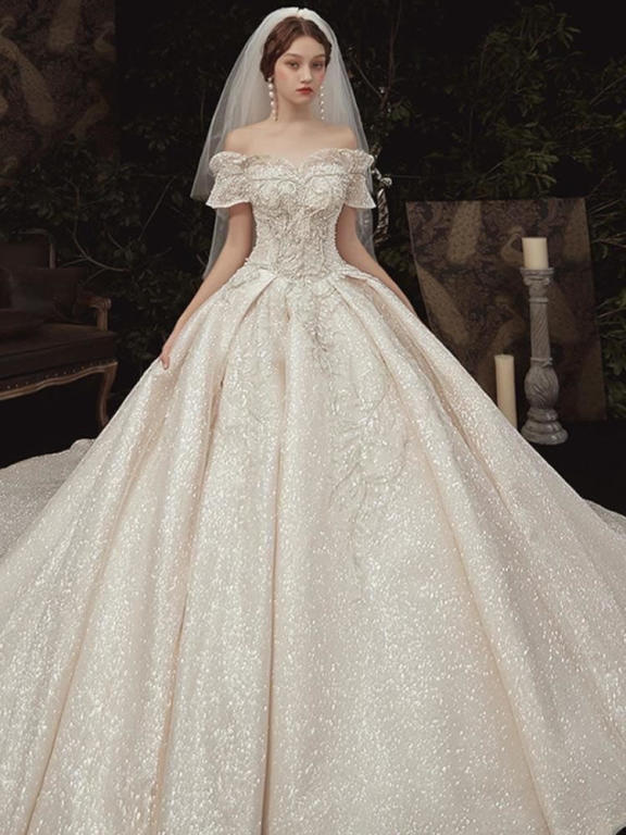 صورة اجمل فساتين الافراح , احدث تصميمات لفساتين الزفاف 13199 2