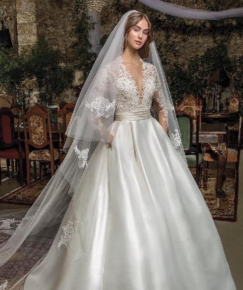 صورة اجمل فساتين الافراح , احدث تصميمات لفساتين الزفاف 13199 3