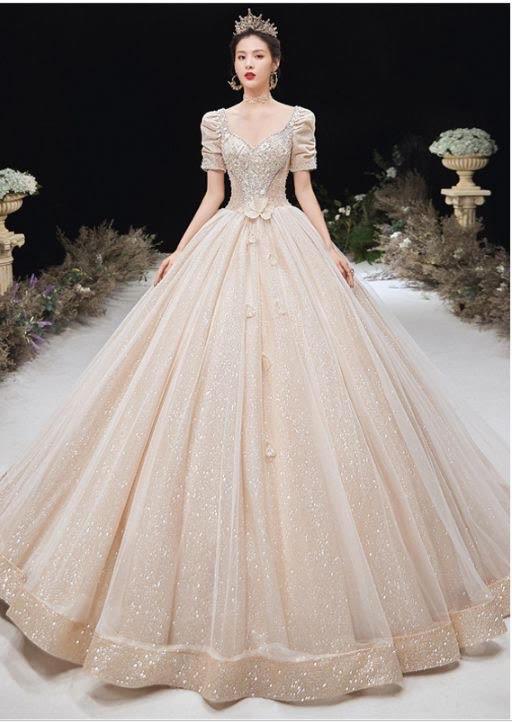 صورة اجمل فساتين الافراح , احدث تصميمات لفساتين الزفاف 13199 4