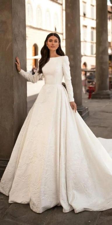 صورة اجمل فساتين الافراح , احدث تصميمات لفساتين الزفاف 13199 5