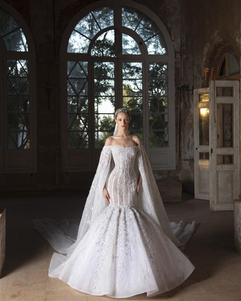 صورة اجمل فساتين الافراح , احدث تصميمات لفساتين الزفاف 13199 7
