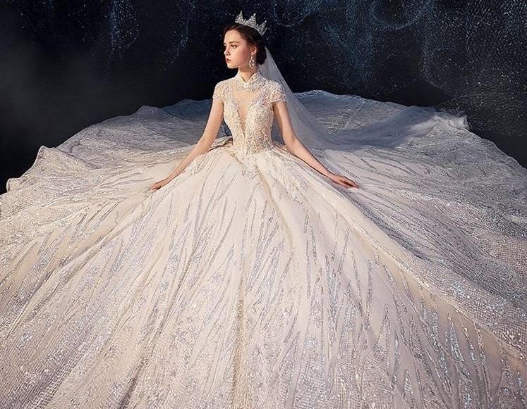 صورة اجمل فساتين الافراح , احدث تصميمات لفساتين الزفاف 13199